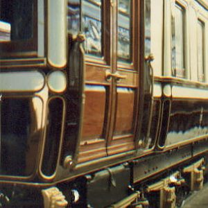 L.N.W.R. Royal Coach -  detail.