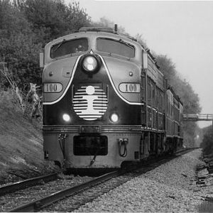 IC 100 At Mp 107 On the Illinois Central Iowa Div.