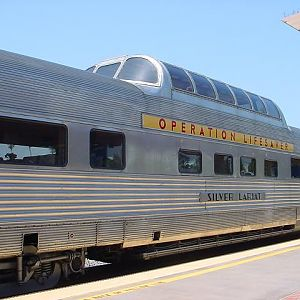 The Silver Lariat Dome Car
