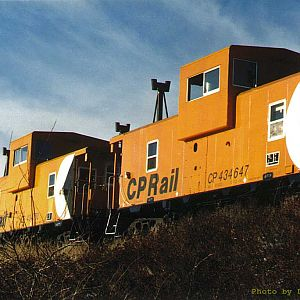 """Caboose Schnabel Train"""