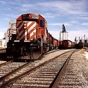 """Spring Loading Grain Cars"""
