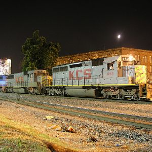KCS freight in Shreveport, LA