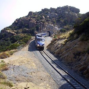 Amtrak through Susana Pass