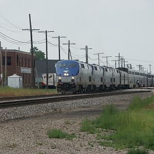 The Southwest Chief #4 at Galesburg