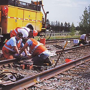 """ CP Rail Maintenance Crew"""