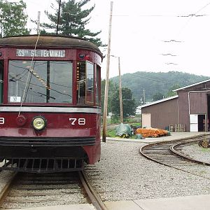 Red Arrow 78 and Pittsburgh Railways 1711