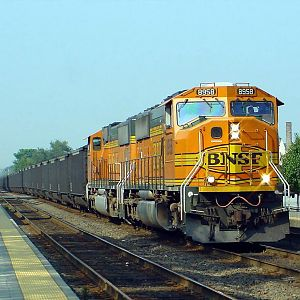BNSF East into Chicago