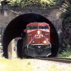 CP 9655 at Clanwilliam BC