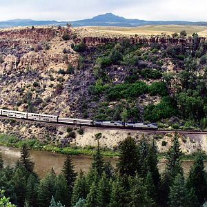 Through the Colo. River Canyon