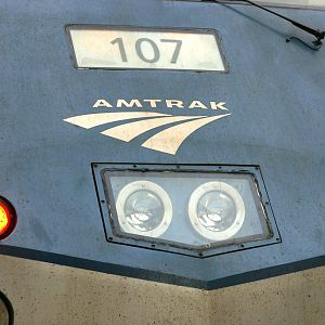Amtrak P42 nose