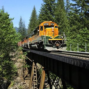 WorkTrain at Deception creek