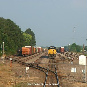 The West End of Silsbee Yard