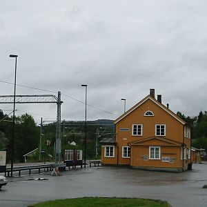 Drangedal Station, Norway