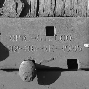 CPR Stelco Tie Plate
