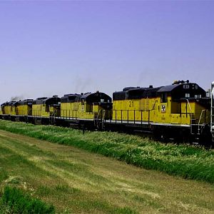 Northwest Iowa Train