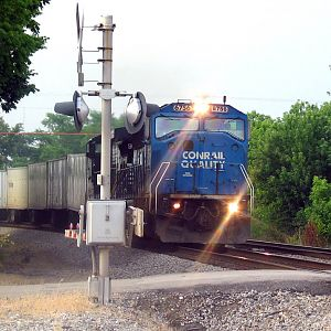 Conrail in Georgetown, Ky
