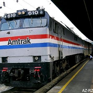 Amtrak #610 Washington DC