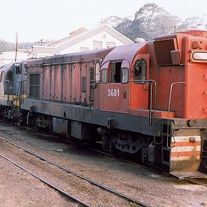 Locomotives in Mayrink 9