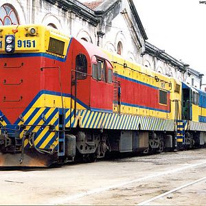 Locomotives in Mayrink 26