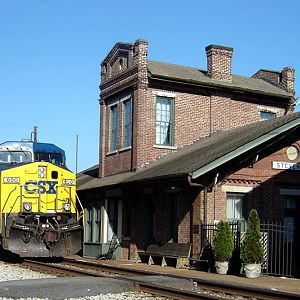 Passing The Depot In Stevenson, AL