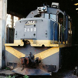 Locomotives in Mayrink 44