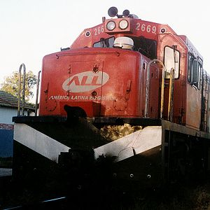 Locomotives in Mayrink 46