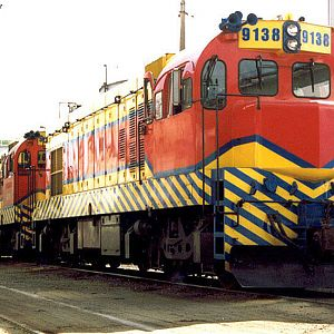 Locomotives in Mayrink 53
