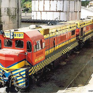 Locomotives in Mayrink 57