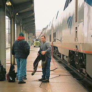 Coast Starlight Engineers