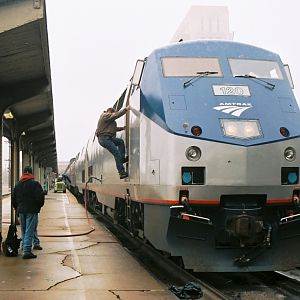 Coast Starlight at Sacramento