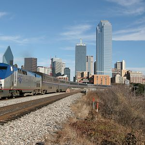 Amtrak 38 - Dallas Texas