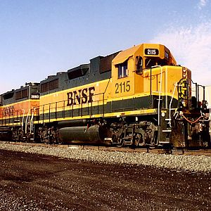 BNSF - Williston, N.D. Train Station
