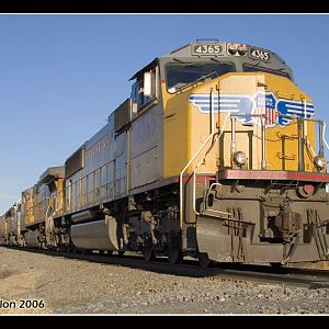 UP 4365 - SD70M - M.J. Scanlon