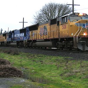 UP 2001 at Eugene, OR