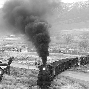 Nevada Northern RR's #93