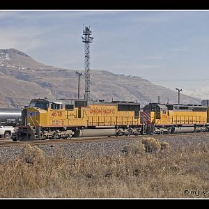 UP 4678 - SD70M - M.J. Scanlon