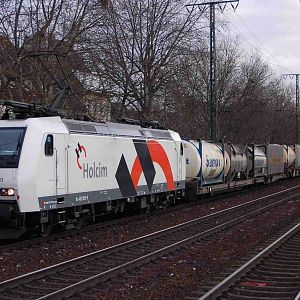 Swiss Railroad 482 009-8 Holcim