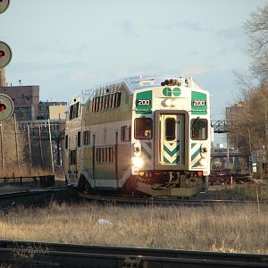 GO 157 at West Toronto