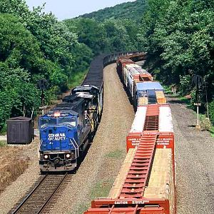 Westbound Coal Loads