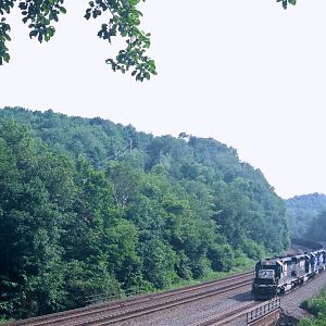 SD 40's Shove Coal Loads UP West Slope