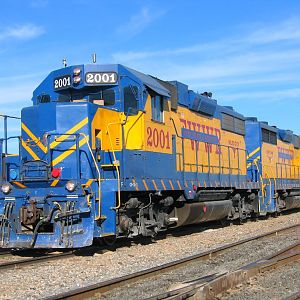 Fort Worth & Western Railroads GP-38