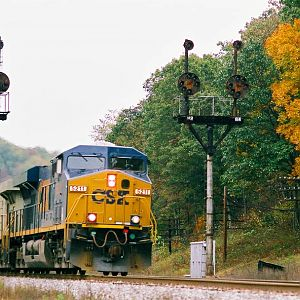 Westbound Mixed Manifest for Cumberland Hump