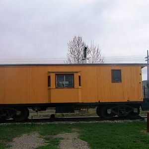 Little yellow caboose