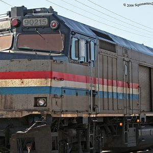 Amtrak, #90215 NPCU F40PH-D