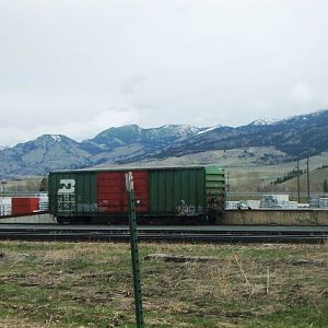 Burlington Northern Box Car