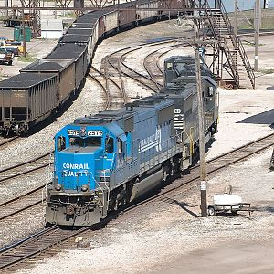 Conrail 2579 at NS Ashtabula Harbor Ohio Yard