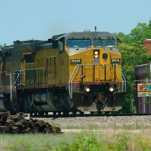 UP power on the CSX