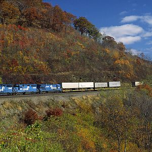 Horseshoe Curve 17 Years Ago