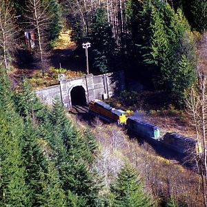 Above Cascade Tunnel