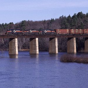 Crossing the Kennebec